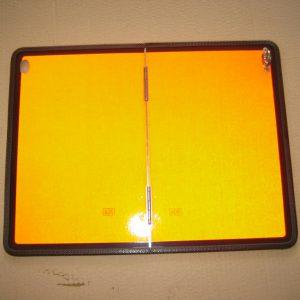 Warntafel orange